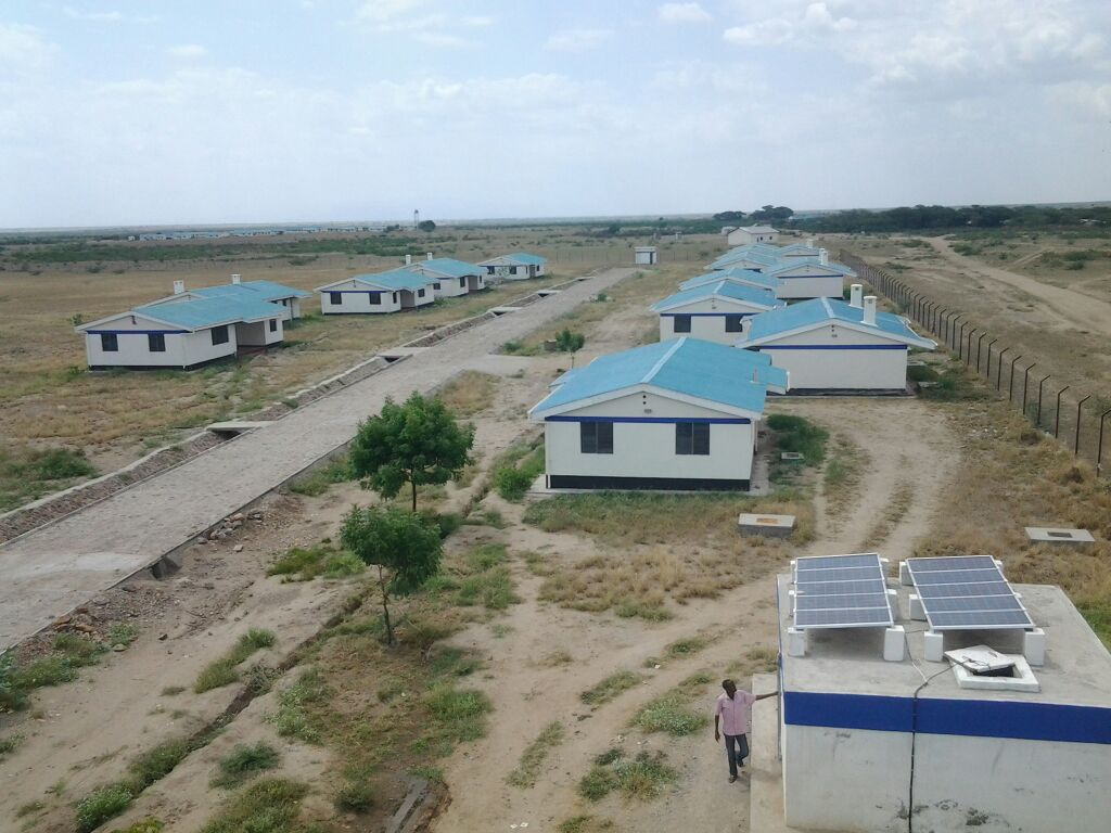 Proposed Completion of Kibish Police Lines, G.S.U Base Camp and A.P Lines